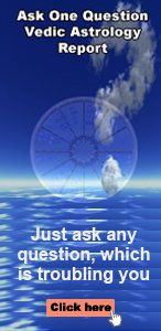 Ask One Question Vedic Astrology Report